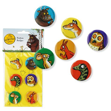 gruffalo character badges gruffalo party ideas party ark
