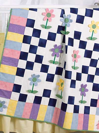 Patchwork Cot Quilt Patterns Free - quilting bed quilts patchwork posies free quilt pattern