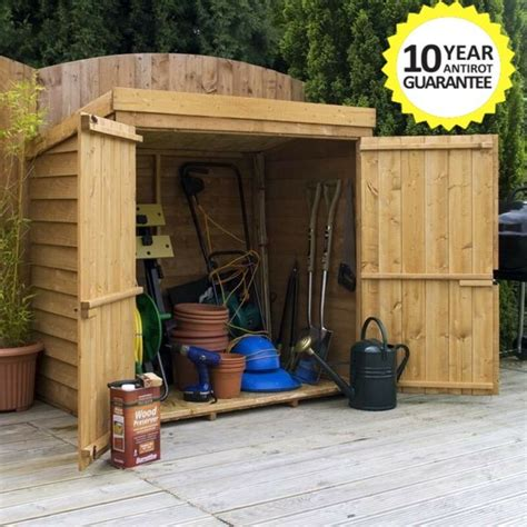 wooden garden storage shed ft  ft tool lawn mower toy