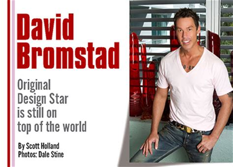 david bromstad original design star is still on top of