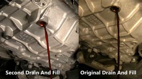 2002 Hyundai Accent Automatic Transmission Fluid Change