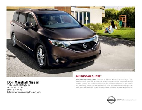 nissan quest  sale  lexington ky don