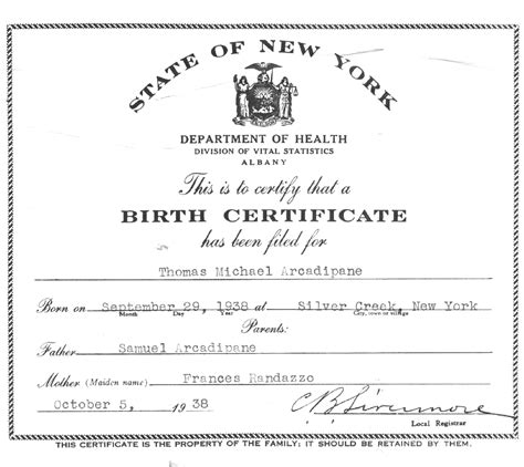 hospital birth certificate template the arcadipane ark family arcadipane