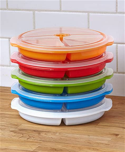 sectioned food storage containers set of 5 divided food storage plates ltd commodities