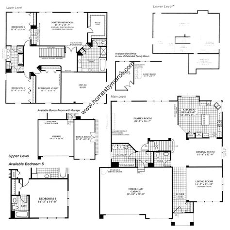 homes by marco floor plans covington lakes subdivision in huntley illinois homes