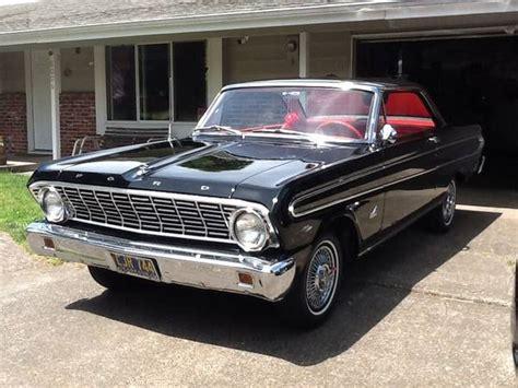 black 260 4 speed 1964 ford falcon futura bring a