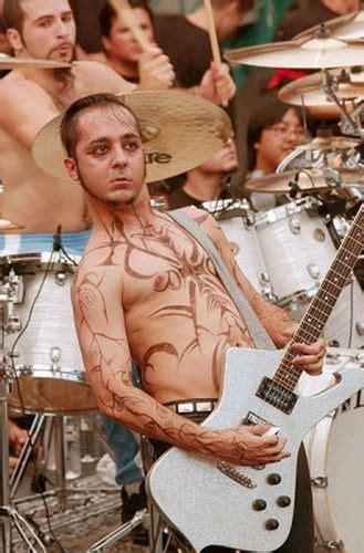 daron malakian tattoos daron malakian en la filmacion