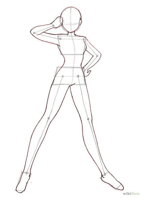 Drawing Bodies anime step by step drawing how to draw anime bodies