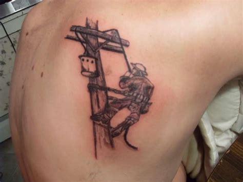 lineman tattoo designs lineman