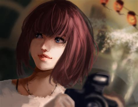 wallpaper girl deviantart portrait of a girl with a camera by daidus on deviantart