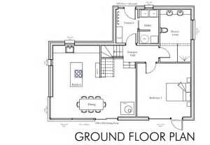 Easy To Build Floor Plans by House Plans Ground Floor House Our Self Build Story