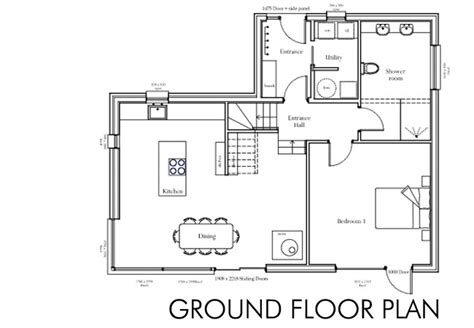 a floor plan of a house house plans ground floor house our self build story
