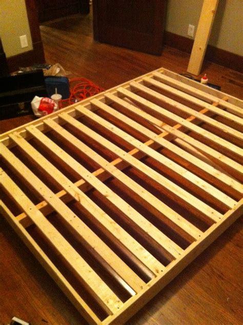 Arch Platform Bed Frame - diy metal frame bed sarah catherine design