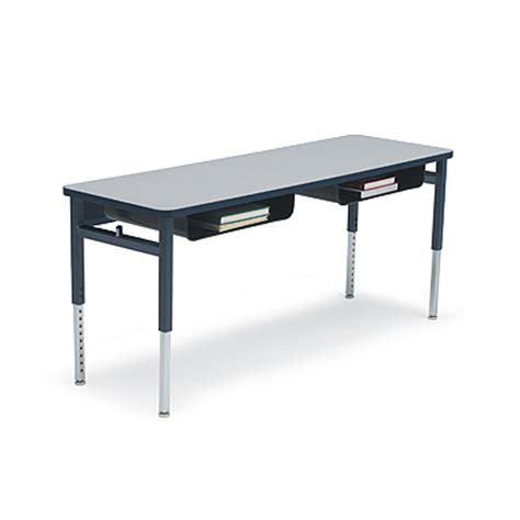 Two Student Desk Planner Classrooms Desks Smith System Student Classroom Desk