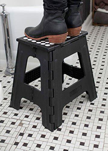 Rhino Ii Folding Stool by Kikkerland Rhino Folding Step Stool Black Hardware