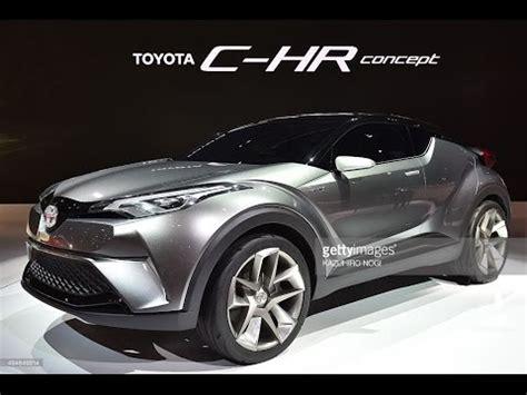 new toyota chr concept 2016  interior youtube