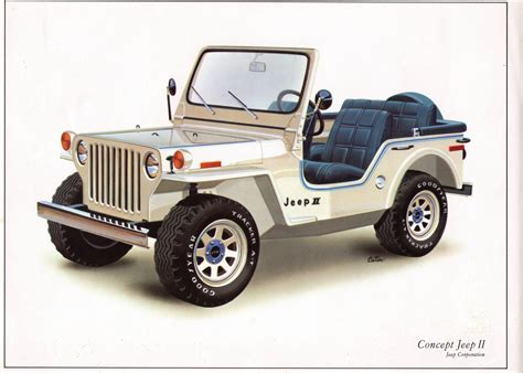 concept jeep concept jeep ii 1977 jeep willys