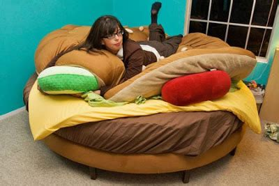 cheeseburger bed the hamburger bed damn cool pictures