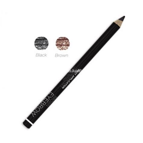 Pensil Alis Mukka Black Perfection Eyebrow make up pensil alis mineral botanica eyebrow murah terbaru ori bandung dijual
