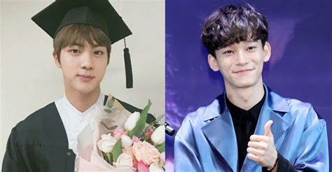 Hanyang Mba by Jin Of Bts Chen Of Exo Enter Graduate School At Hanyang