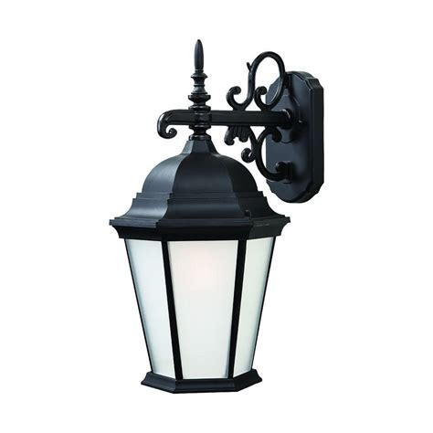 Outdoor Wall Mounted Light Fixtures Acclaim Lighting Dover Collection 3 Light Matte Black Outdoor Wall Mount Light Fixture 5273bk