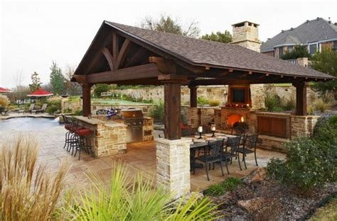 outdoor kitchen pictures and ideas outdoor kitchen designs featuring pizza ovens fireplaces