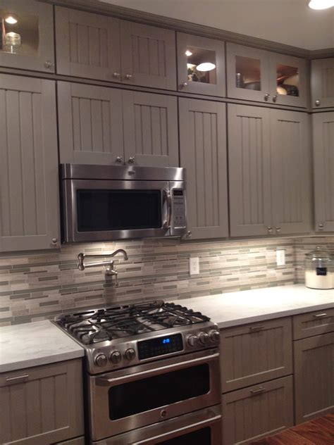 Cabinets For The Kitchen by Weathered Pieces Kitchen Remodel With Martha Stewart Cabinets