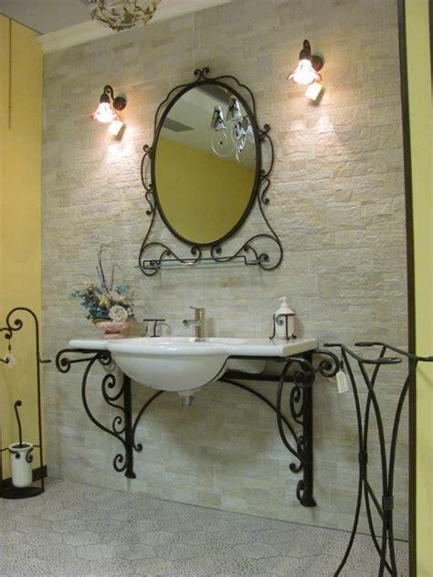 arredo bagno in ferro battuto arredamento per bagno in ferro battuto