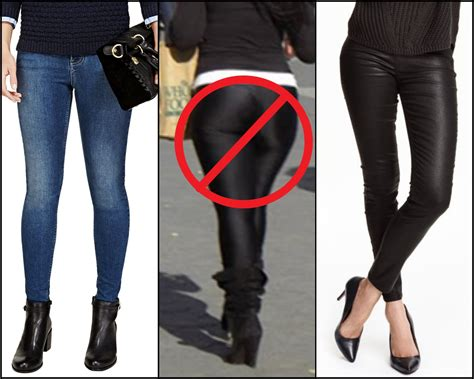 Get The Look How Not To Wear A Coat by Jeggings And Treggings What S The Difference