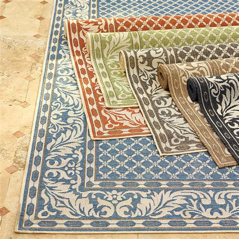 Ashworth Outdoor Rug Ashworth Outdoor Rug Blue 8 6 Quot Contemporary Outdoor Rugs By Frontgate