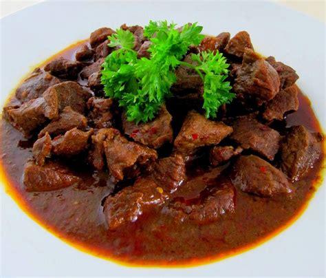 resep masakan rendang daging sapi khas padang resep