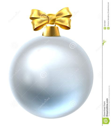 christmas bauble stock vector image 58476897