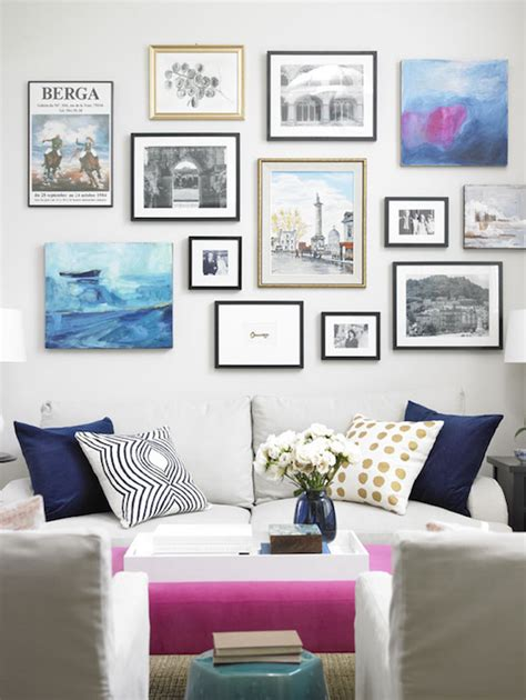 gallery walls your guide to creating the perfect gallery wall