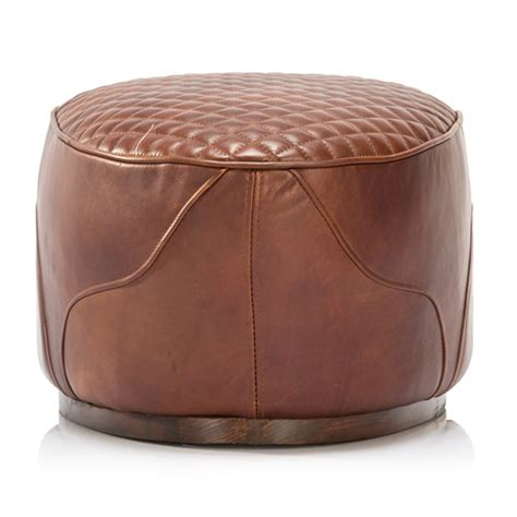 saddle ottoman timothy oulton saddle footstool