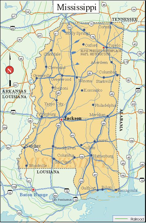 printable map mississippi printable us state maps printable state maps