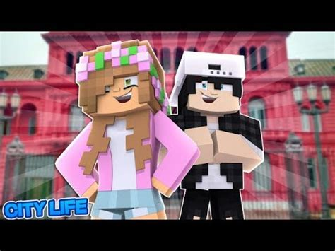 little kelly and raven move in together?! minecraft love