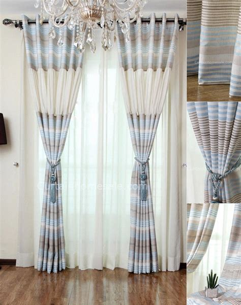 pics for gt royal blue window curtains