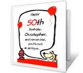 milestone birthday cards print free at blue mountain