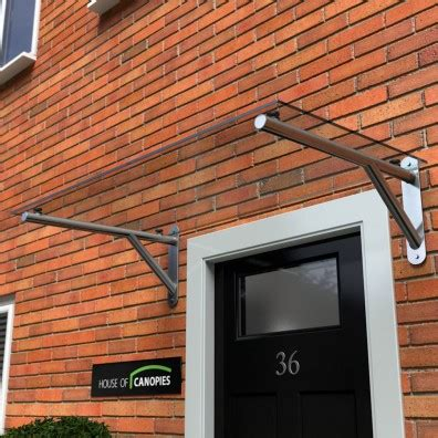 glass door awning glass door canopies glazed with toughened safety glass