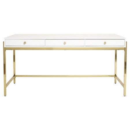 white and gold desk 1000 ideas about writing desk on desks