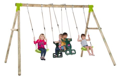 swing t the vervet wooden swing set swing seat 2 person glider duo