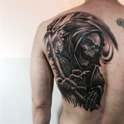 grim reaper tattoo design 95 best grim reaper designs meanings 2018
