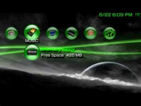 theme psp neon coolest psp theme download equipmentfree