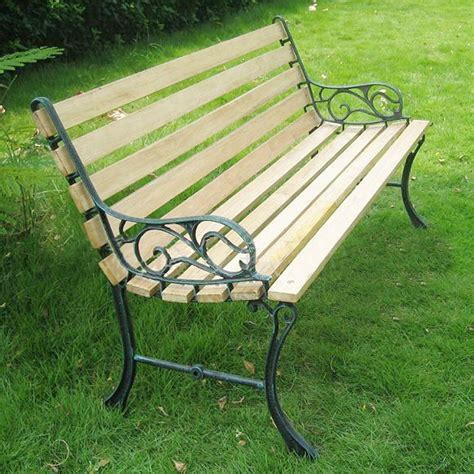 outdoor wrought iron bench outdoor furniture wood preservative