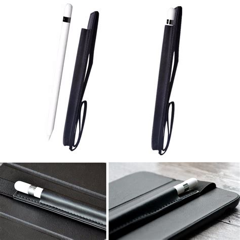 Pensil Pro leather cover holder pouch for apple pencil pro 9 7 12 9 tablet alex nld