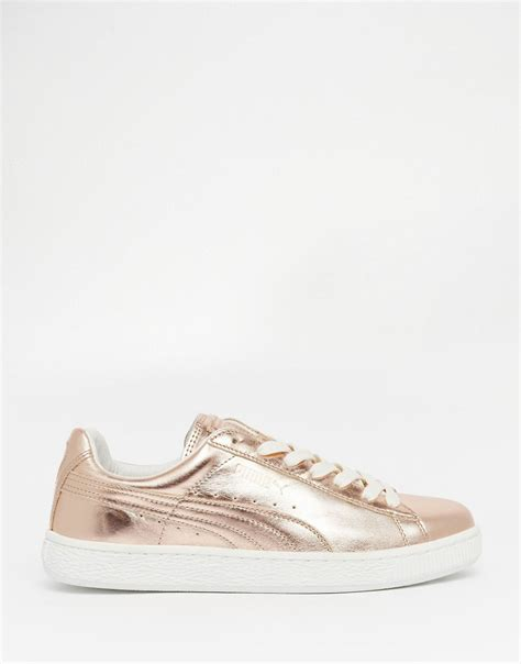 metallic gold sneakers affordable basket sneakers in gold