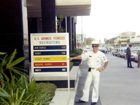 Coast Guard Recruiting Office by 1969 Don In Front Of The Uscg Recruiting Office In