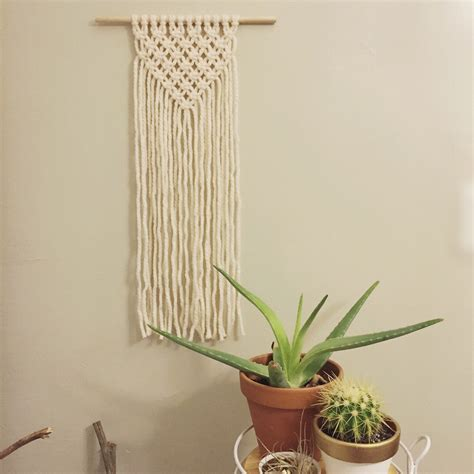 Macrame Etsy - felicity macrame wall hanging by thelittleavocado on etsy