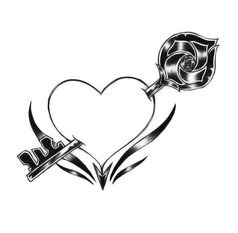 key to my heart tattoo designs key tattoos design and ideas