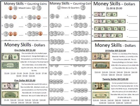 Money Skills Worksheets empowered by them money skills